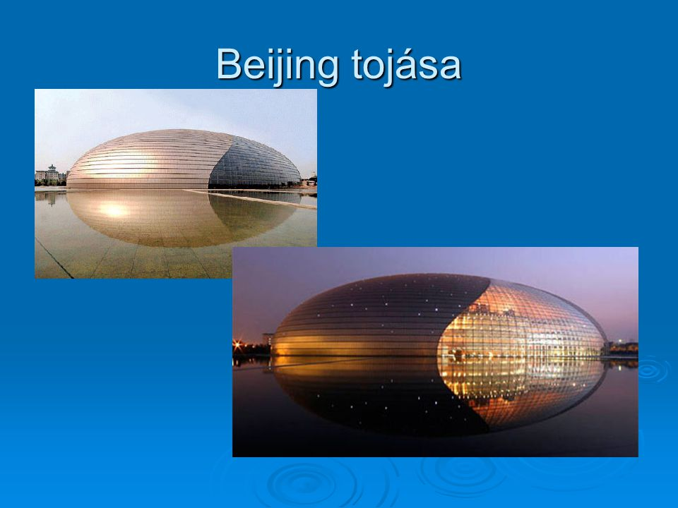 Beijing tojása