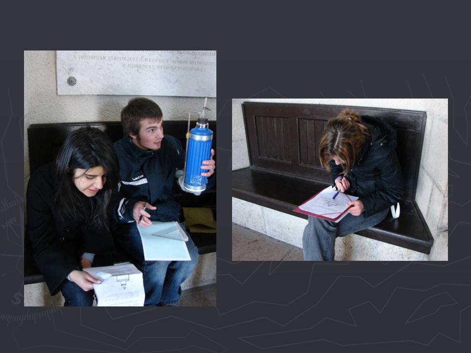 a) Ahogy együtt megyünk fel a kilátótoronyba, minden teraszon olvasd le és jegyezd fel a barométer folyadék-szint különbségét.
