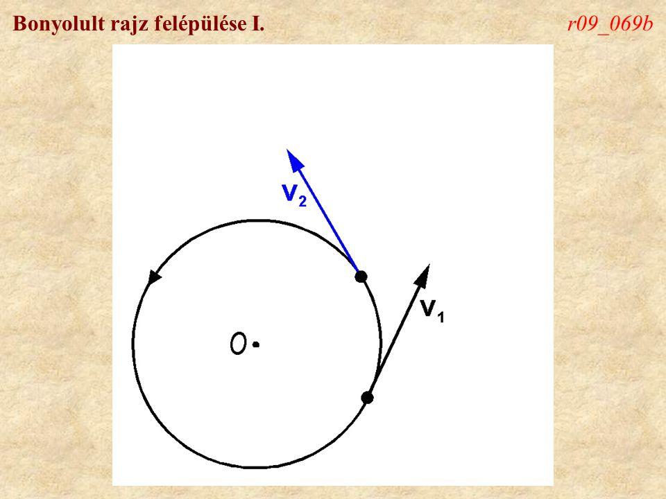Bonyolult rajz felépülése I.r09_069c