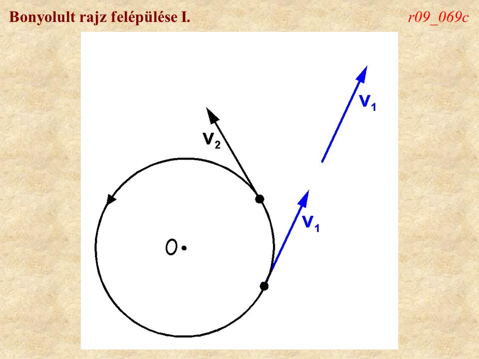 Bonyolult rajz felépülése I.r09_069d