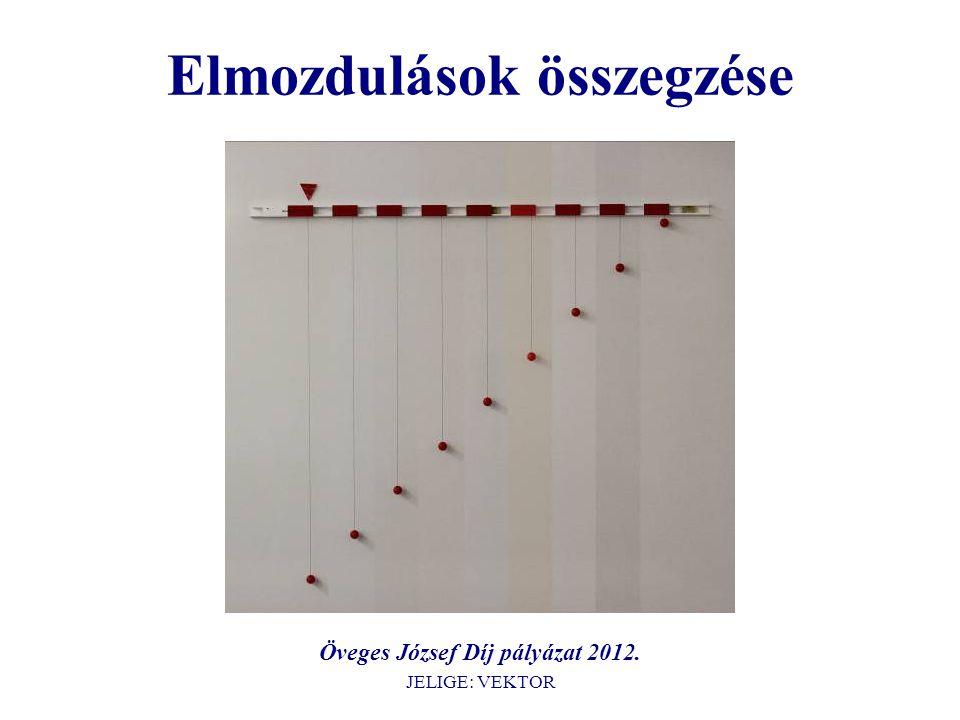 Elmozdulások összegzése Öveges József Díj pályázat 2012. JELIGE: VEKTOR