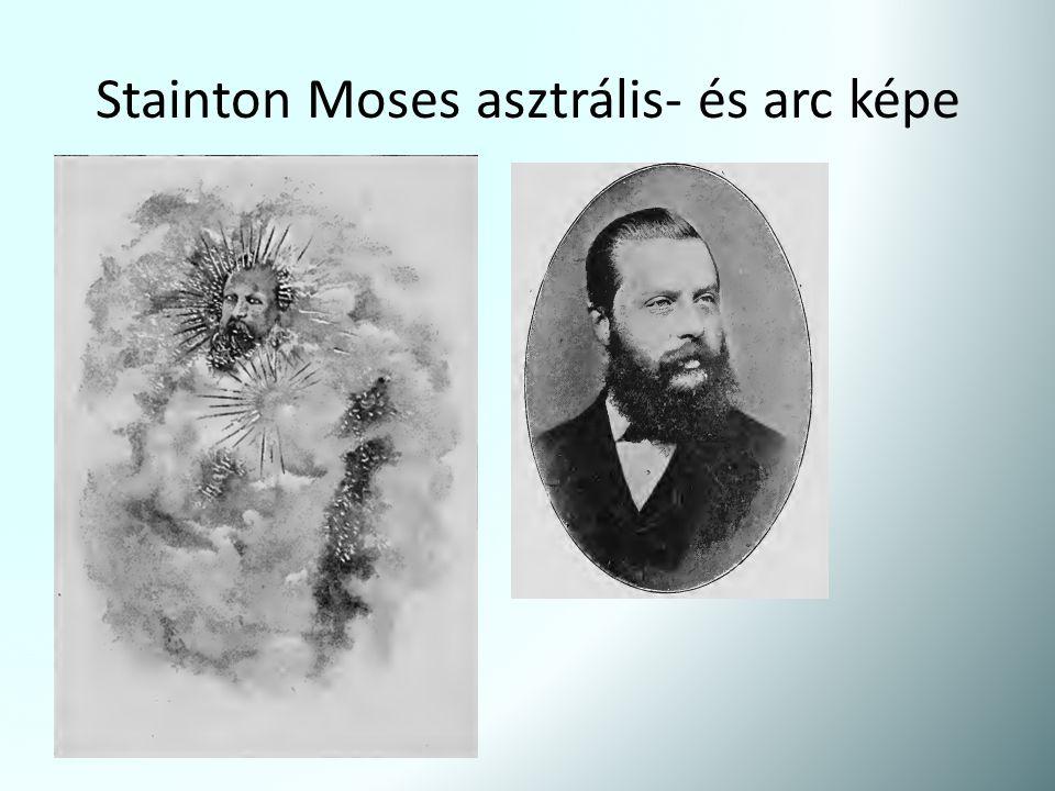 Stainton Moses asztrális- és arc képe