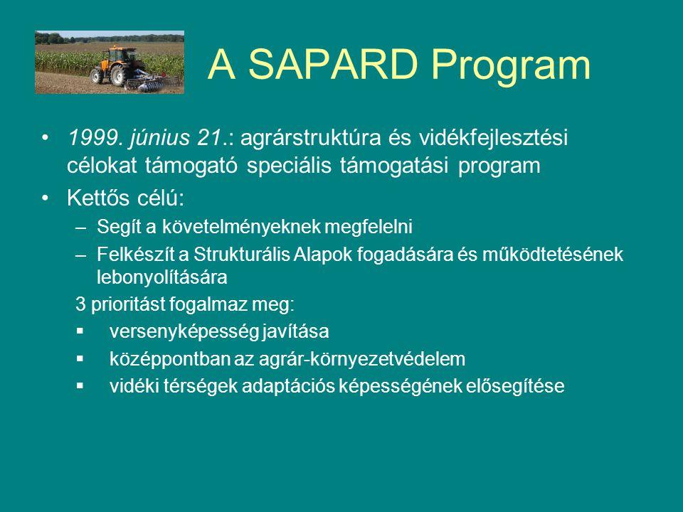 A SAPARD Program 1999.