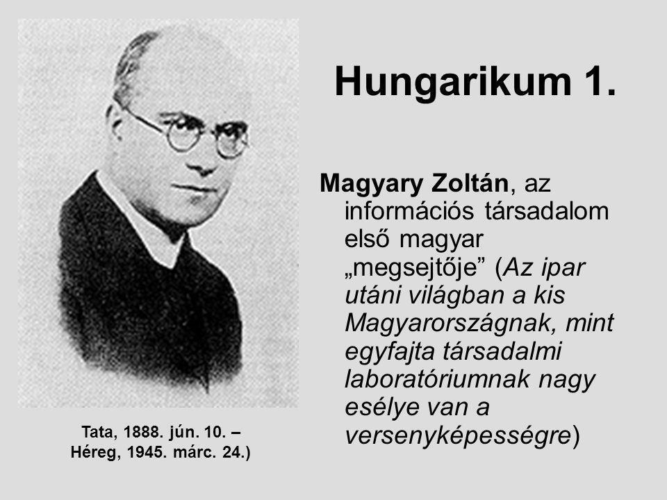 Hungarikum 1.