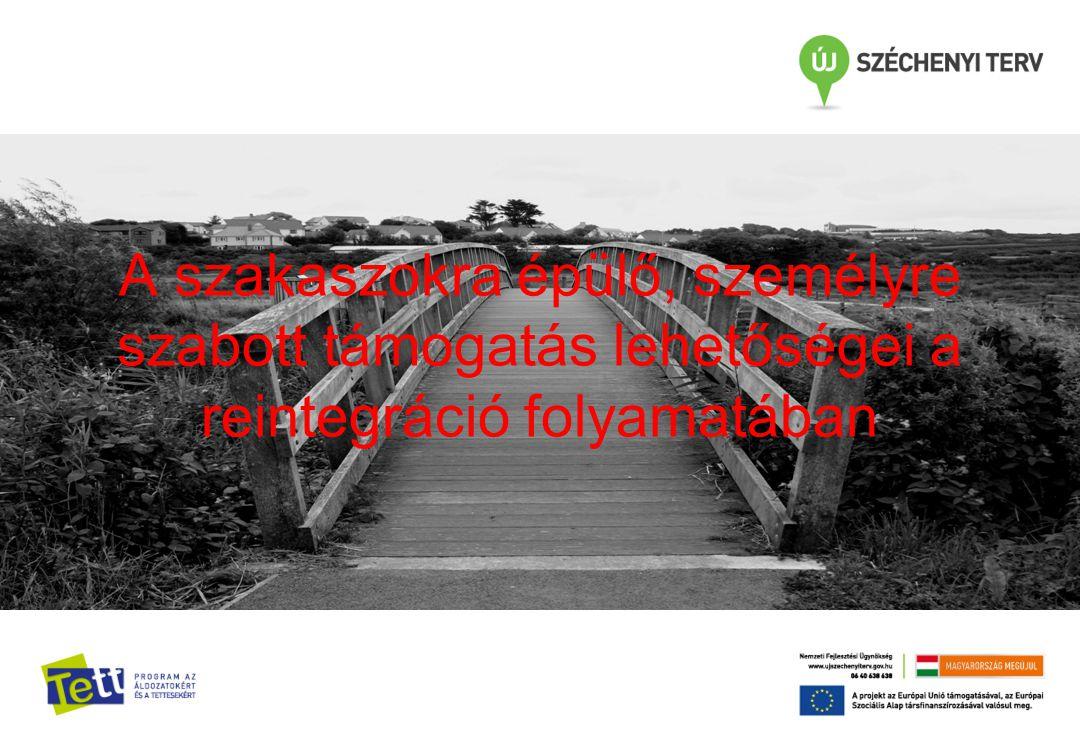 A szakaszokra épülő, személyre szabott támogatás lehetőségei a reintegráció folyamatában