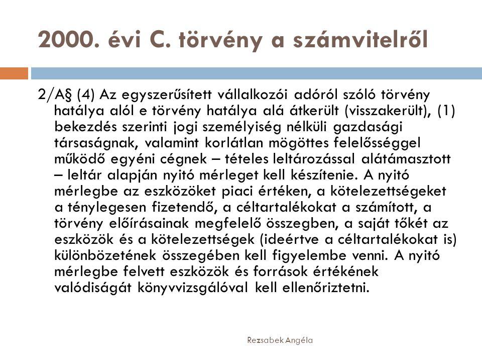2000.évi C.