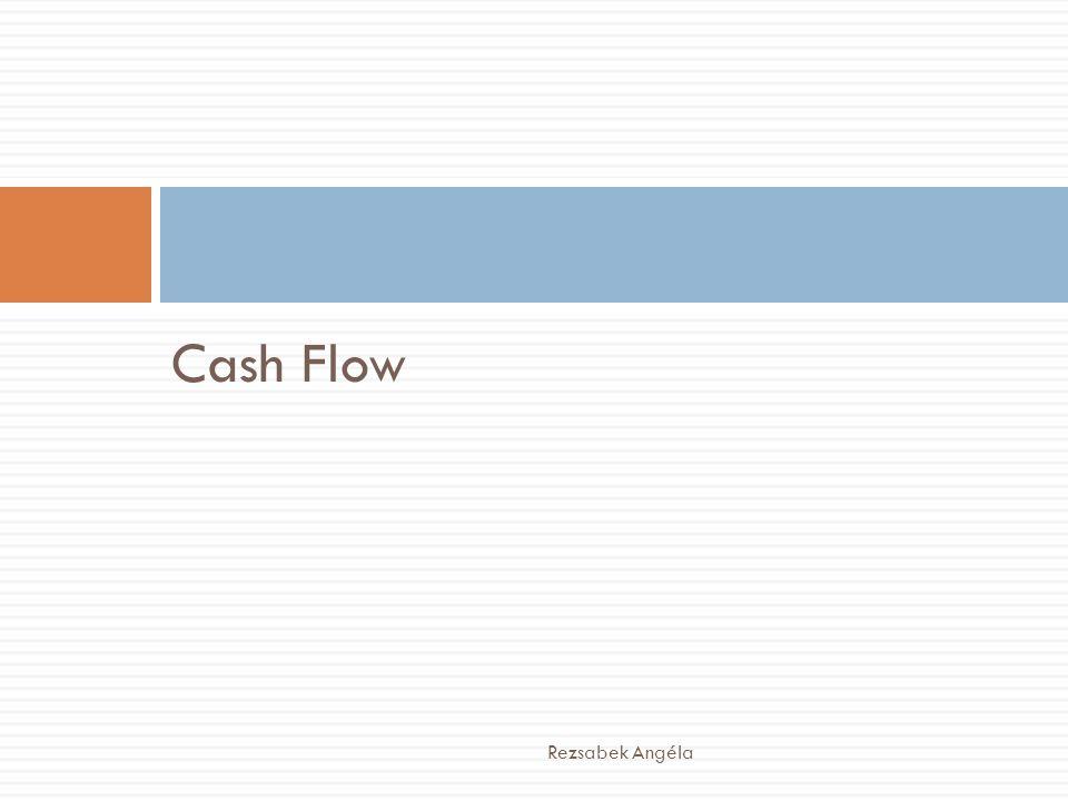 Cash Flow Rezsabek Angéla