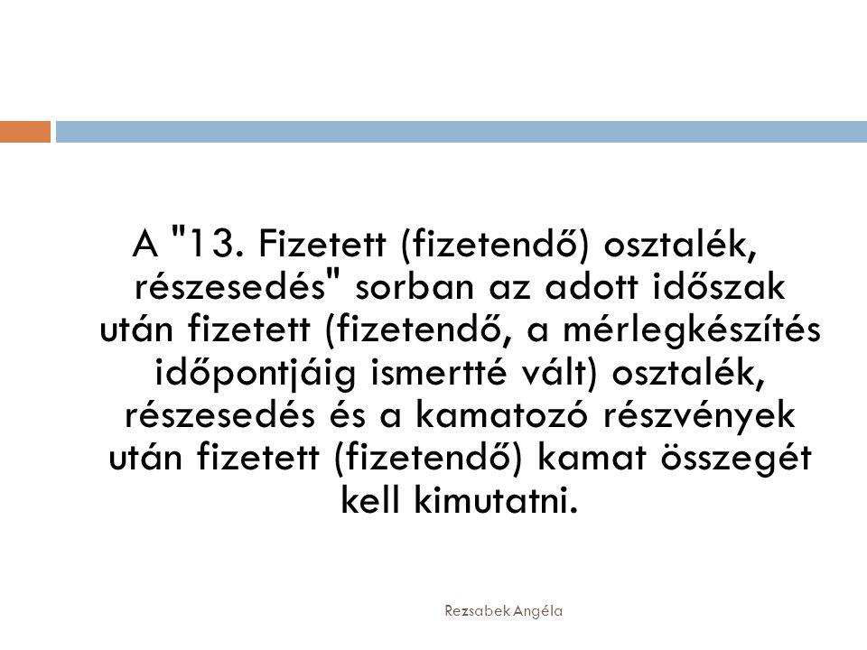 Rezsabek Angéla A 13.