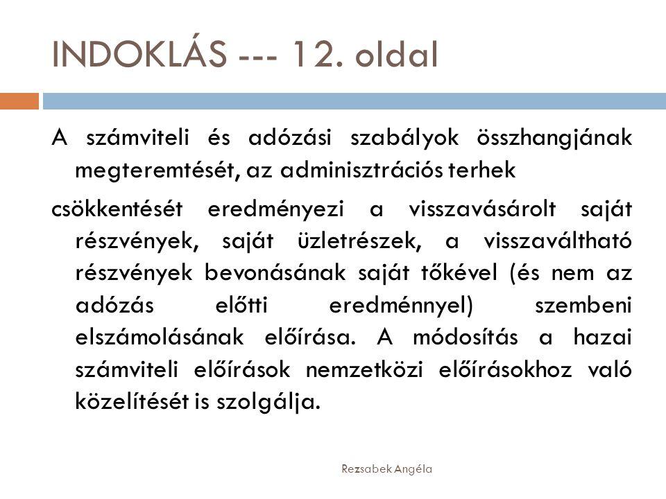 INDOKLÁS --- 12.