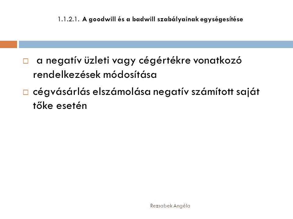 2000.évi C. törvény a számvitelről Rezsabek Angéla 88§ (9) Ha a vállalkozóra vonatkozik a 151.