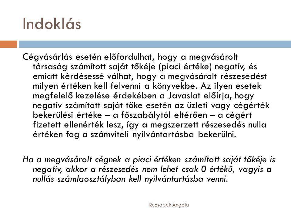 2000.évi C. törvény a számvitelről 7/A.