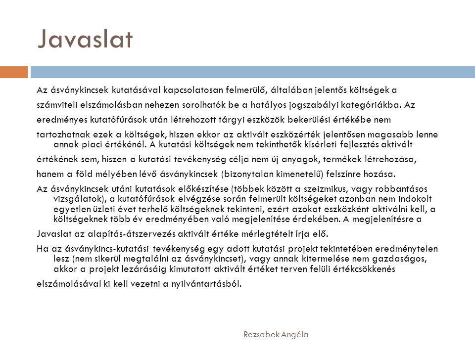 2003.évi XC. törvény a Kutatási és Technológiai Innovációs Alapról Rezsabek Angéla 3.