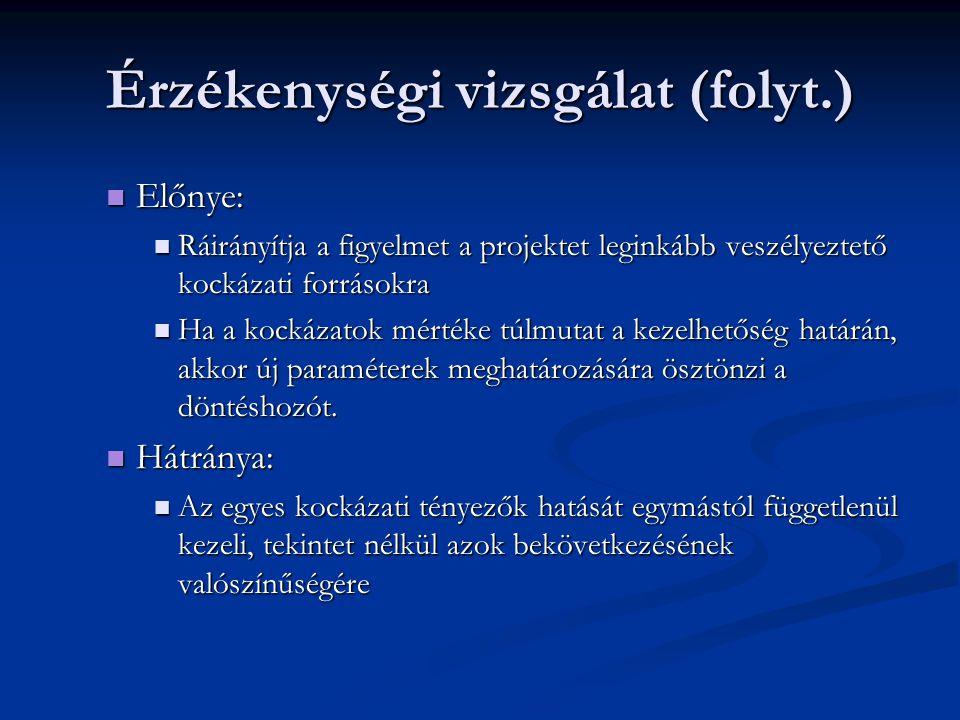 Valószínűségi elemzés 2.
