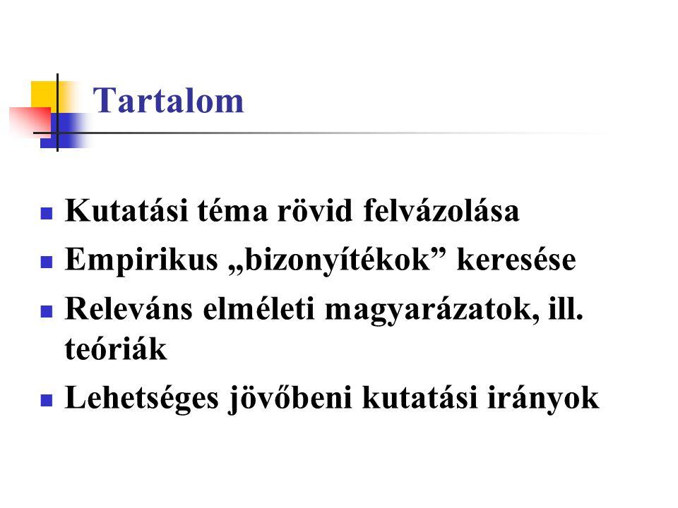 Hipotézis II.