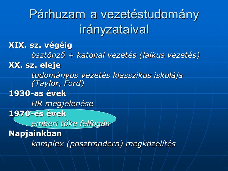 Emberitőke-menedzsment ( ETM) Human capital management (HCM)