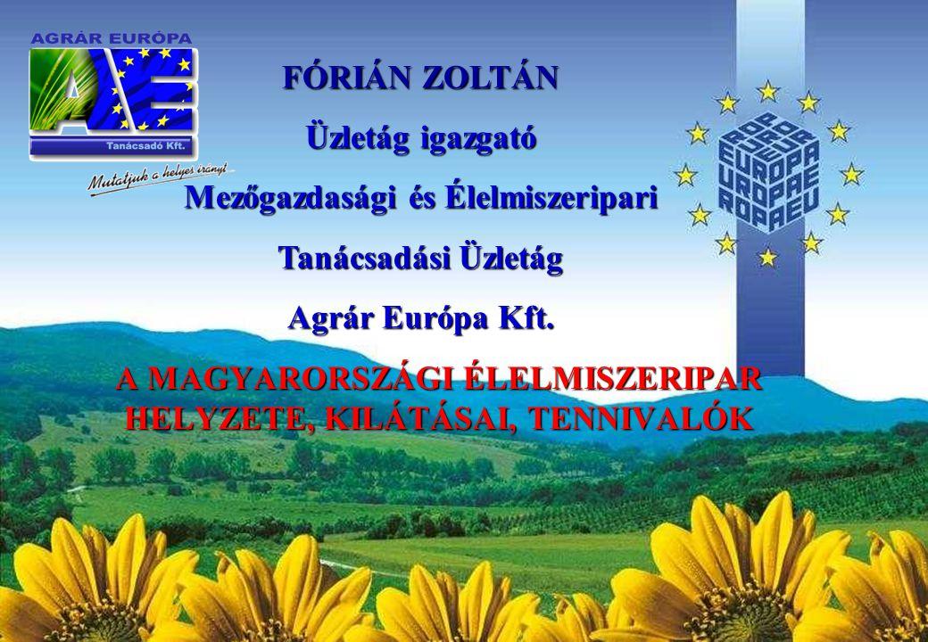 Agrár Európa Tanácsadó Kft.www.agrar-europa.hu 2010.