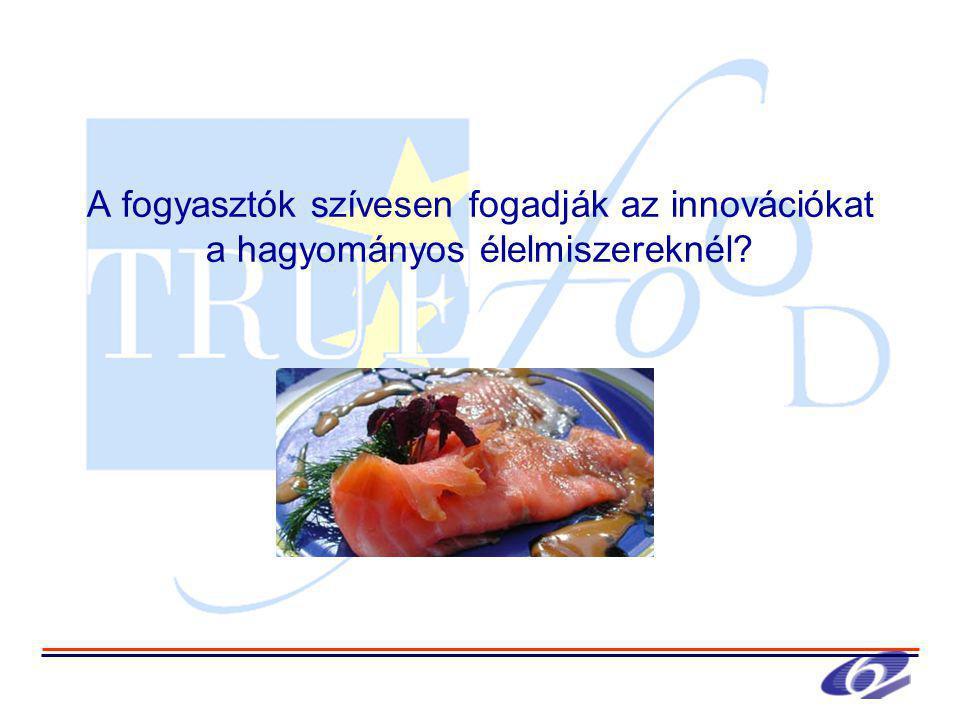 A fogyasztók szívesen fogadják az innovációkat a hagyományos élelmiszereknél