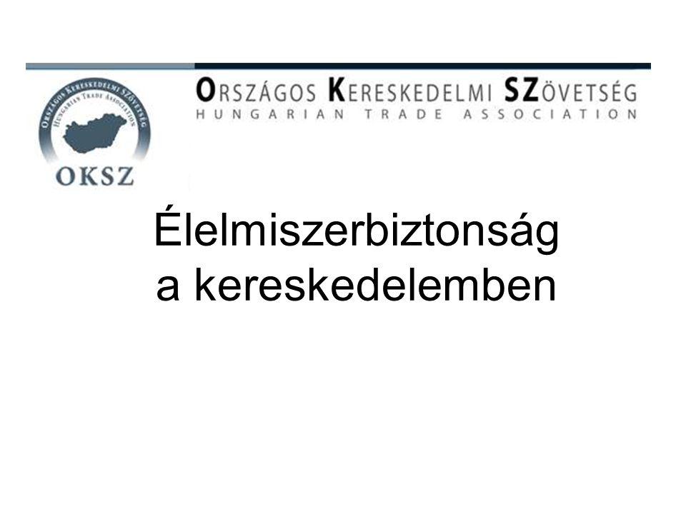 Élelmiszerbiztonság a kereskedelemben 1.MINŐSÉGIRÁNYÍTÁSI RENDSZER 2.ÉLELMISZERBIZTONSÁG ÉS HIGÉNIA 3.HIGÉNIAI ÚTMUTATÓ