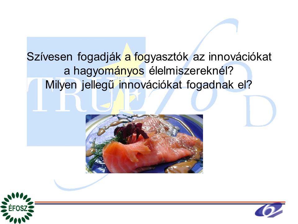 Szívesen fogadják a fogyasztók az innovációkat a hagyományos élelmiszereknél.