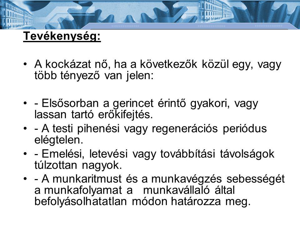 Bánki Donát Gépész és Biztonságtechnikai Mérnöki Kar Mechatronikai és Autótechnikai Intézet Emelőeszközök: Veszélyforrások: Kiálló élek, éles felületek.