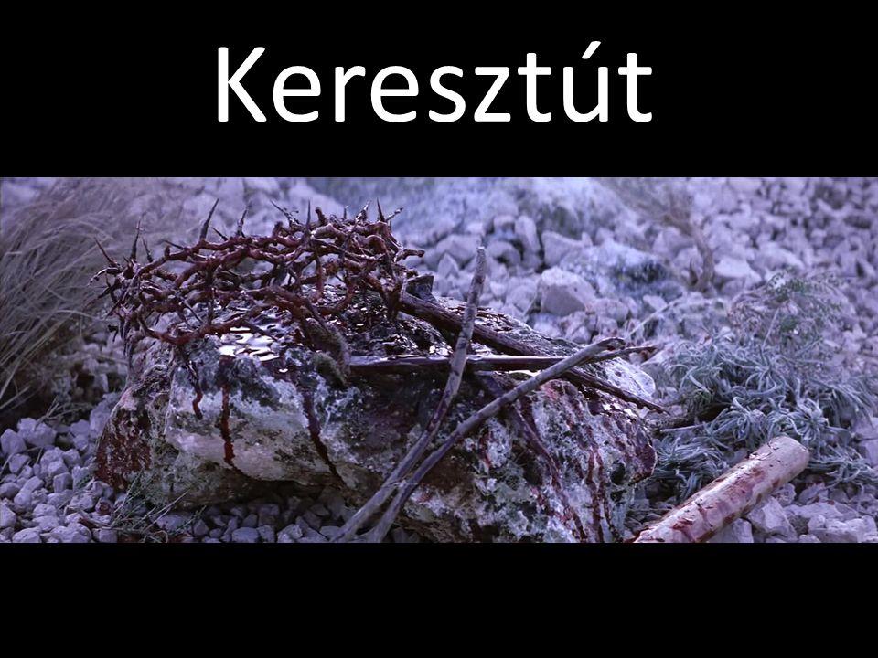 X. állomás Jézust megfosztják ruháitól