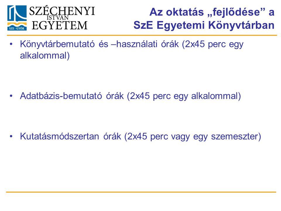 KÖSZÖNJÜK MEGTISZTELŐ FIGYELMÜKET ! dr. Nagy Tamás nagytomi@sze.hu Nyitrai Erzsébet nyitraie@sze.hu