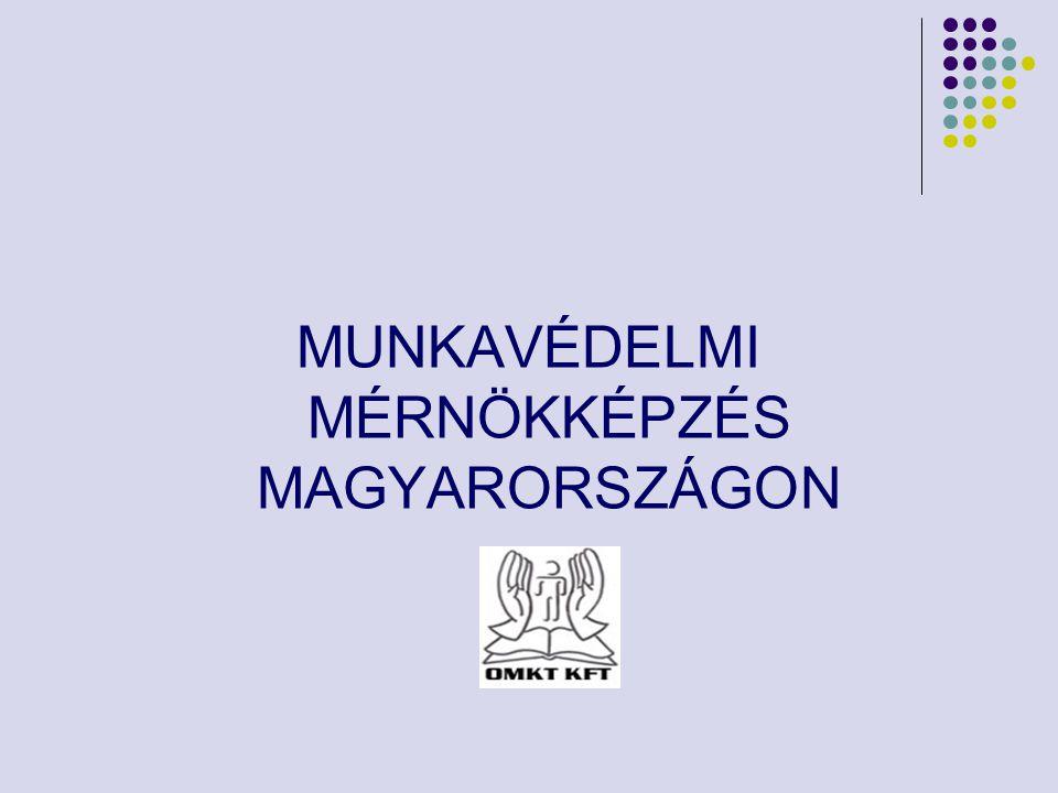 MUNKAVÉDELMI MÉRNÖKKÉPZÉS MAGYARORSZÁGON