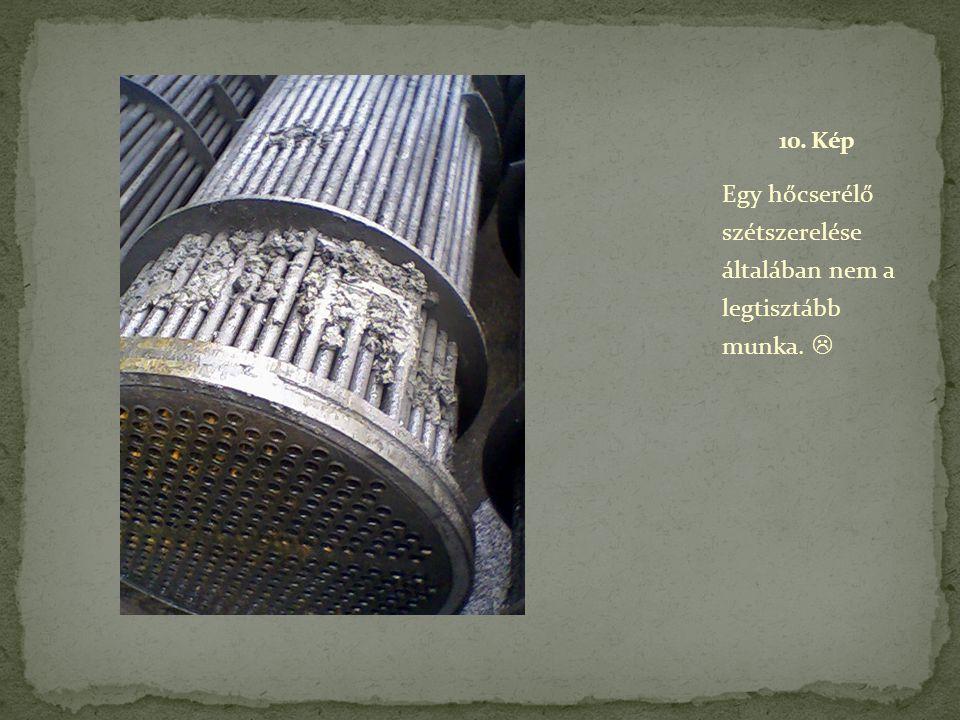 Egy hőcserélő szétszerelése általában nem a legtisztább munka. 
