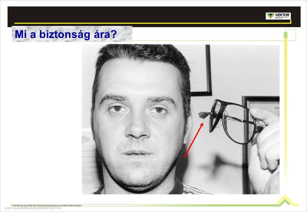 Mi a biztonság ára? uvex: successful eye protection 251104