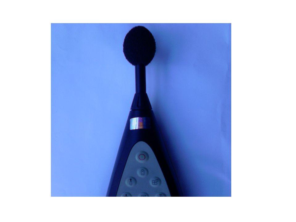 Zajok mérése Hangnyomásszint-mérés Részei: –Mikrofon –Erősítő –Szűrő –Adattároló –szintmérő