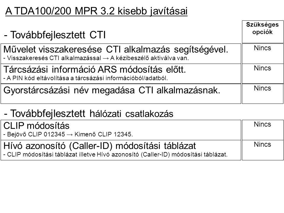 Szükséges opciók CLIP módosítás - Bejövő CLIP 012345 → Kimenő CLIP 12345. Nincs Hívó azonosító (Caller-ID) módosítási táblázat - CLIP módosítási táblá