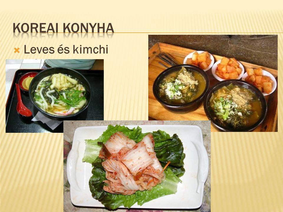  Leves és kimchi