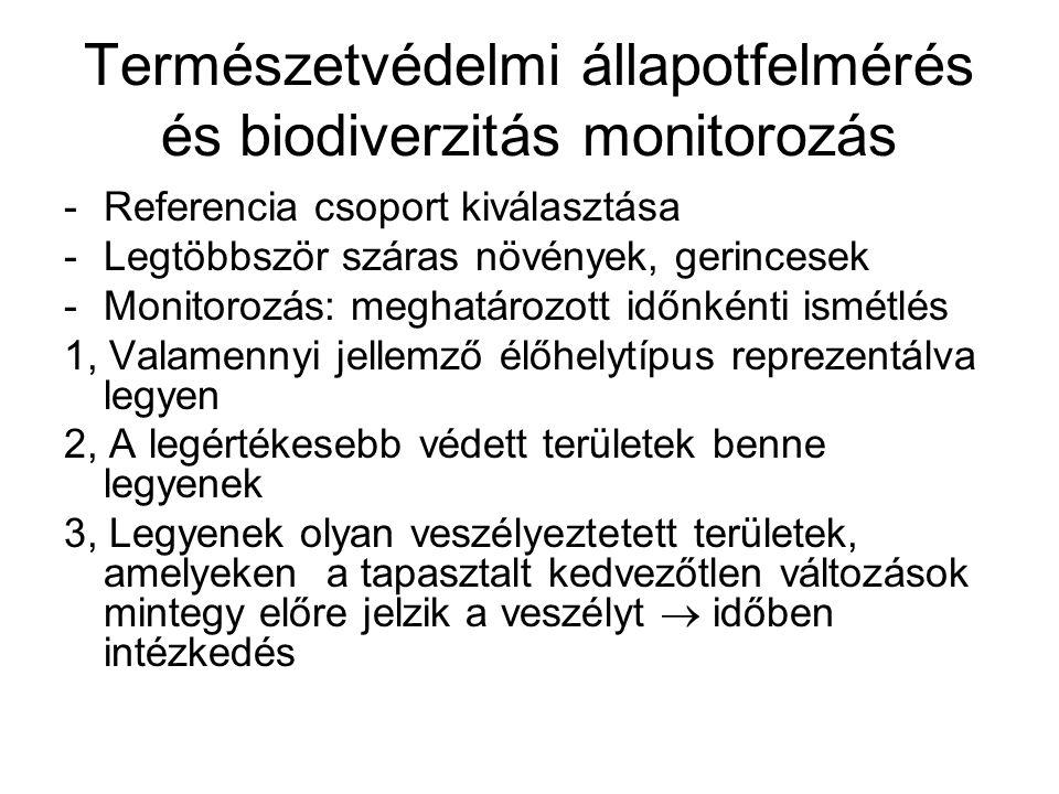 Természetvédelmi helyreállítás Kezelési formák 1, Prezerváció 2, Konzerváció 3, Rekonstrukció 4, Rehabilitáció