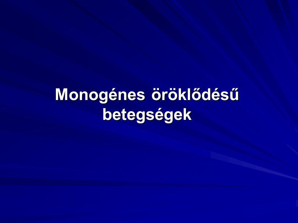 Mendeli genetika Uniformitás törvénye (Mendel, I.): F1 nemzedékben minden utód egyforma, heterozigóta (homozigóta szül ő ket keresztezve).