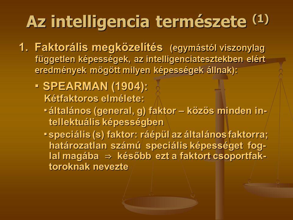Az intelligencia természete (1) 1.