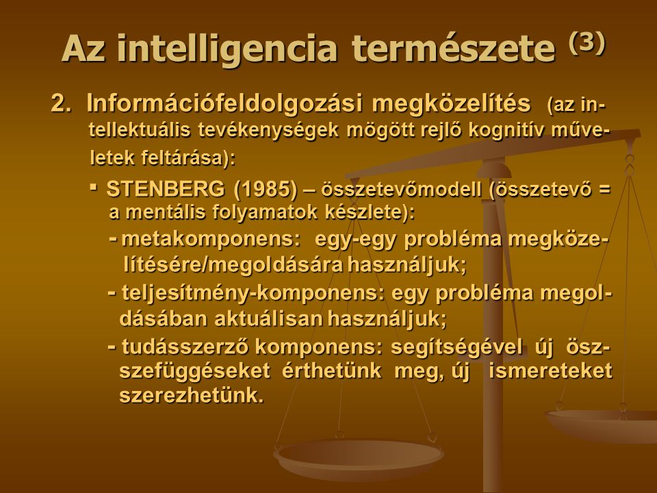 Az intelligencia természete (3) 2.