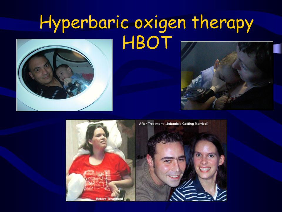 Hyperbaric oxigen therapy HBOT