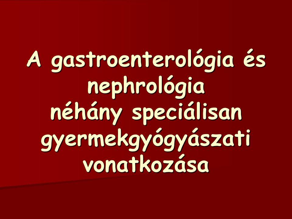 Gombák okozta enteritis Candidiasis Az antibiotikum kiírtja a normál bélflórát Az antibiotikum kiírtja a normál bélflórát A gomba beköltözhet a helyére A gomba beköltözhet a helyére PROBIOTIKUMOK (Bifidus, Lactobacillus, élőflórás joghurtok) kivédhetik PROBIOTIKUMOK (Bifidus, Lactobacillus, élőflórás joghurtok) kivédhetik Csak súlyos malabsorptio esetén kell kezelés Csak súlyos malabsorptio esetén kell kezelés –Cukorszegény étrend –Rostdús táplálkozás jó hatású