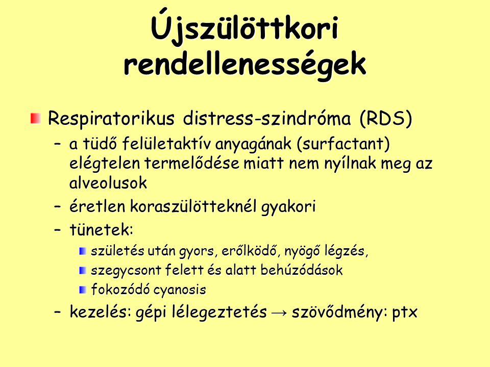 Tuberculosis stádiumai: –primer tbc: első fertőződés gyermekkorban primer komlexum: primer góc + hilusi nyirokcsomó tünetek: tünetmentes; hőemelkedés, köhögés, éjszakai izzadás, étvágytalanság szóródás: –bronchogén –miliaris (haematogén): tüdő, meninxek, máj/lép –postprimer tbc: átvészelt primer fertőzés után reinfekció izolált szervi érintettség: 85%-ban tüdő, 15%-ban extrapulmonális (nycs, urogenitalis, csont-izület)