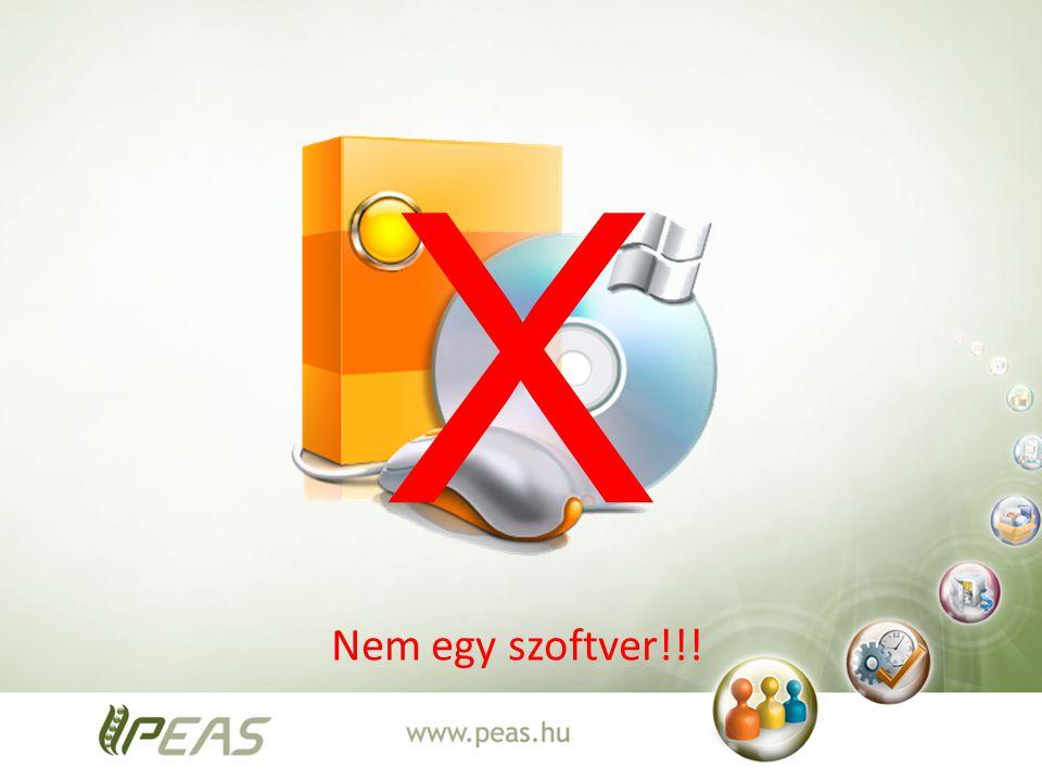 Nem egy szoftver!!! X