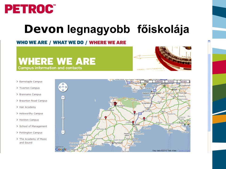 Devon legnagyobb főiskolája