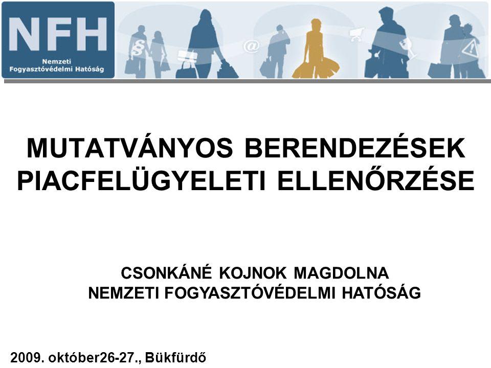 Köszönöm a figyelmet Csonkáné Kojnok Magdolna Nemzeti Fogyasztóvédelmi Hatóság 1088 Budapest, József krt.