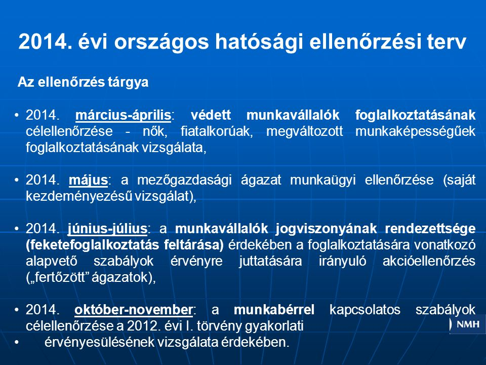 Országos statisztika 2013