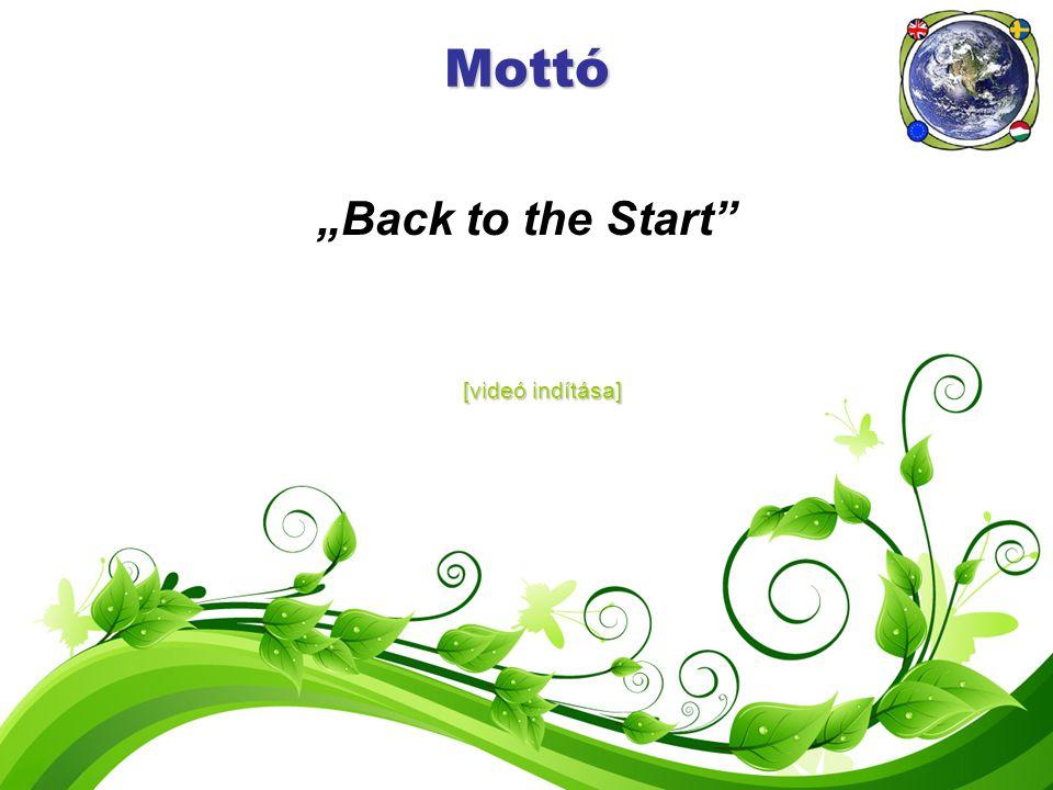 """Mottó """"Back to the Start"""" [videó indítása] [videó indítása]"""