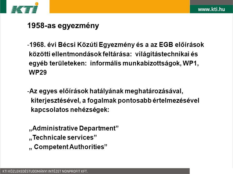 1958-as egyezmény -1968.