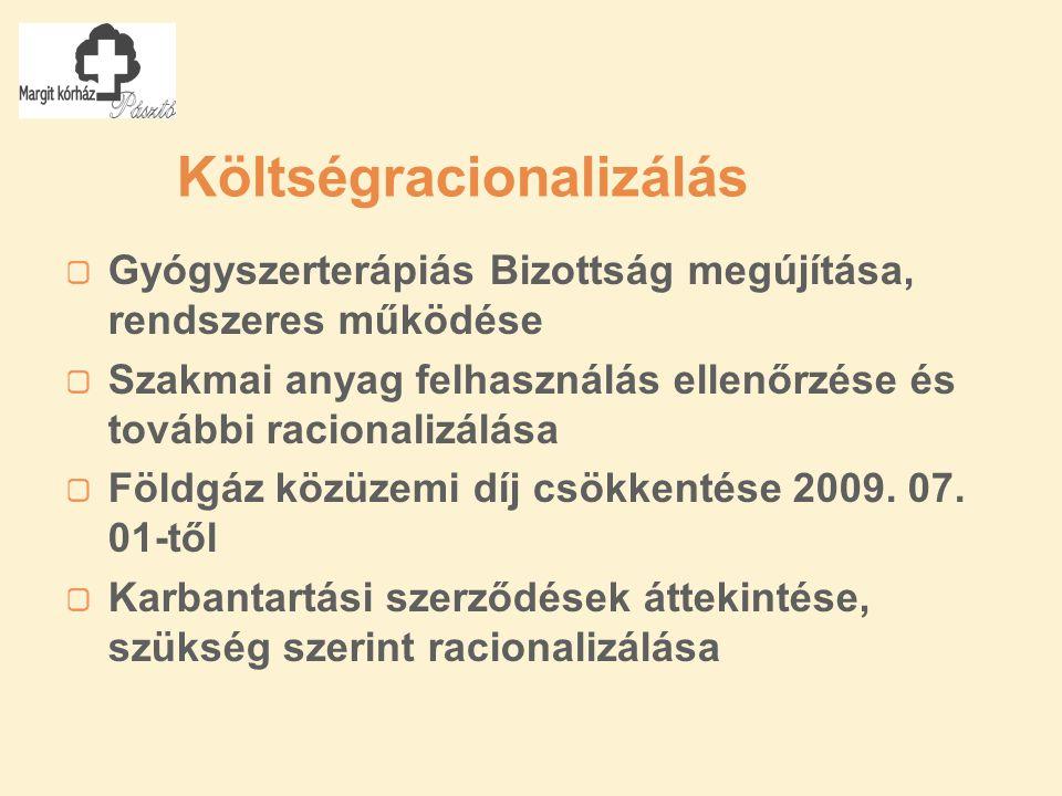"""EU pályázat + önerős fejlesztések TIOP-2.1.3-07/1-2008-0005 azonosítójú, """"SANSZ 2 Pásztó a betegekért című, az Aktív kórházi ellátásokat kiváltó járóbeteg szolgáltatások fejlesztése pályázat projekt menedzsmentjében való részvétel, a szükséges feladatok végzése, az épületgépészeti, orvostechnológiai és informatikai fejlesztések kiemelt figyelése Kert – rehab."""