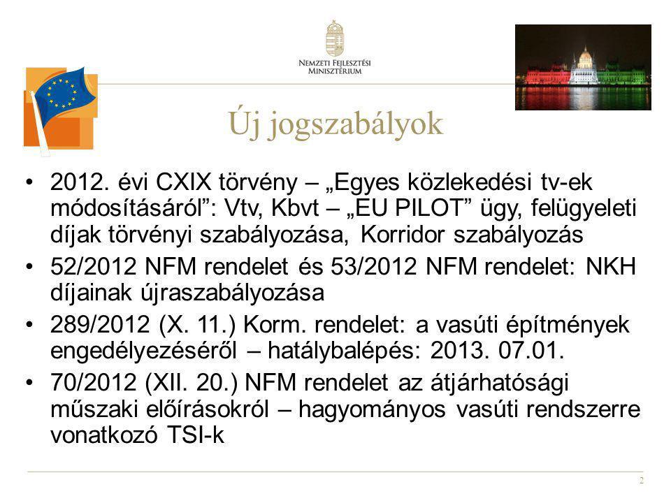 2 Új jogszabályok 2012.