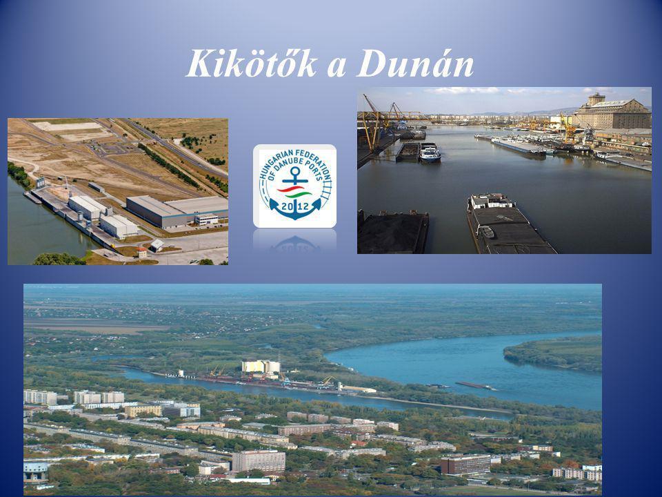 Kikötők a Dunán