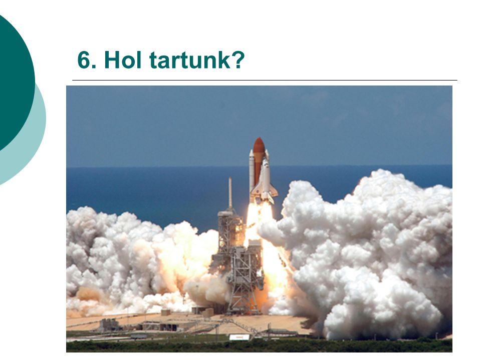 6. Hol tartunk?