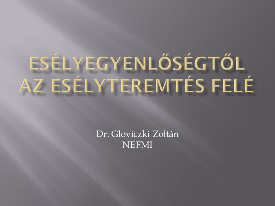Dr. Gloviczki Zoltán NEFMI